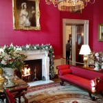 Holidays at the White House:  A Walk through the East Wing