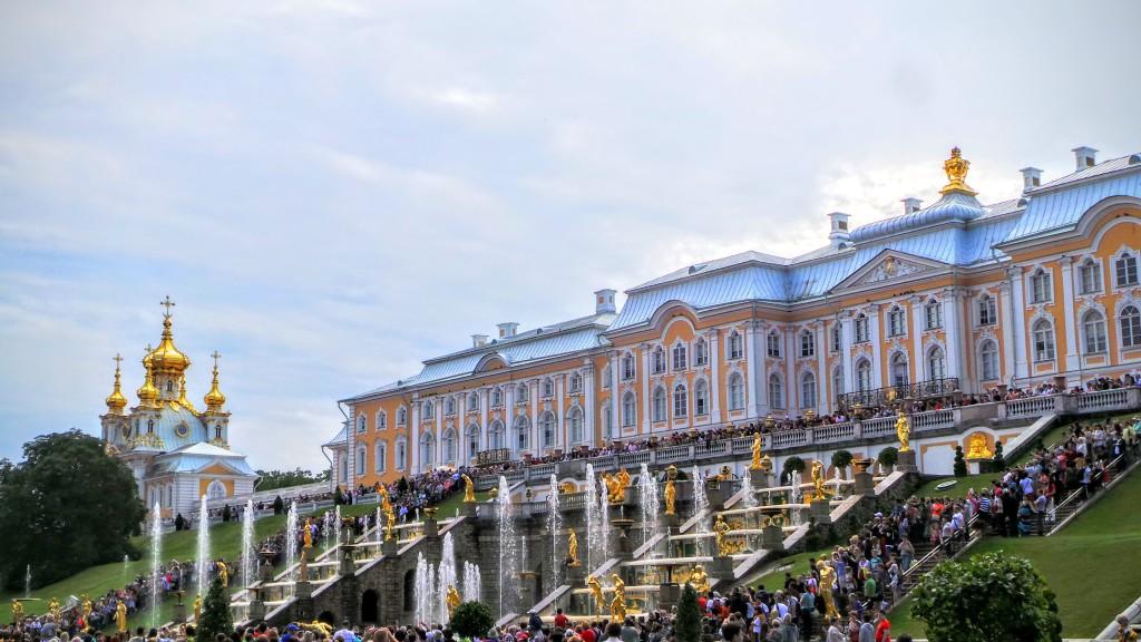 Fountains Peterhof