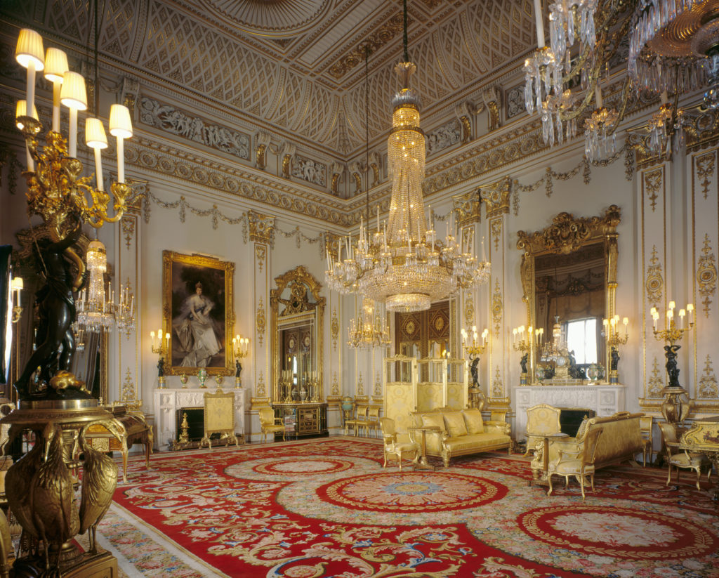 Buckingham Palace: the White Drawing Room Royal Collection Trust