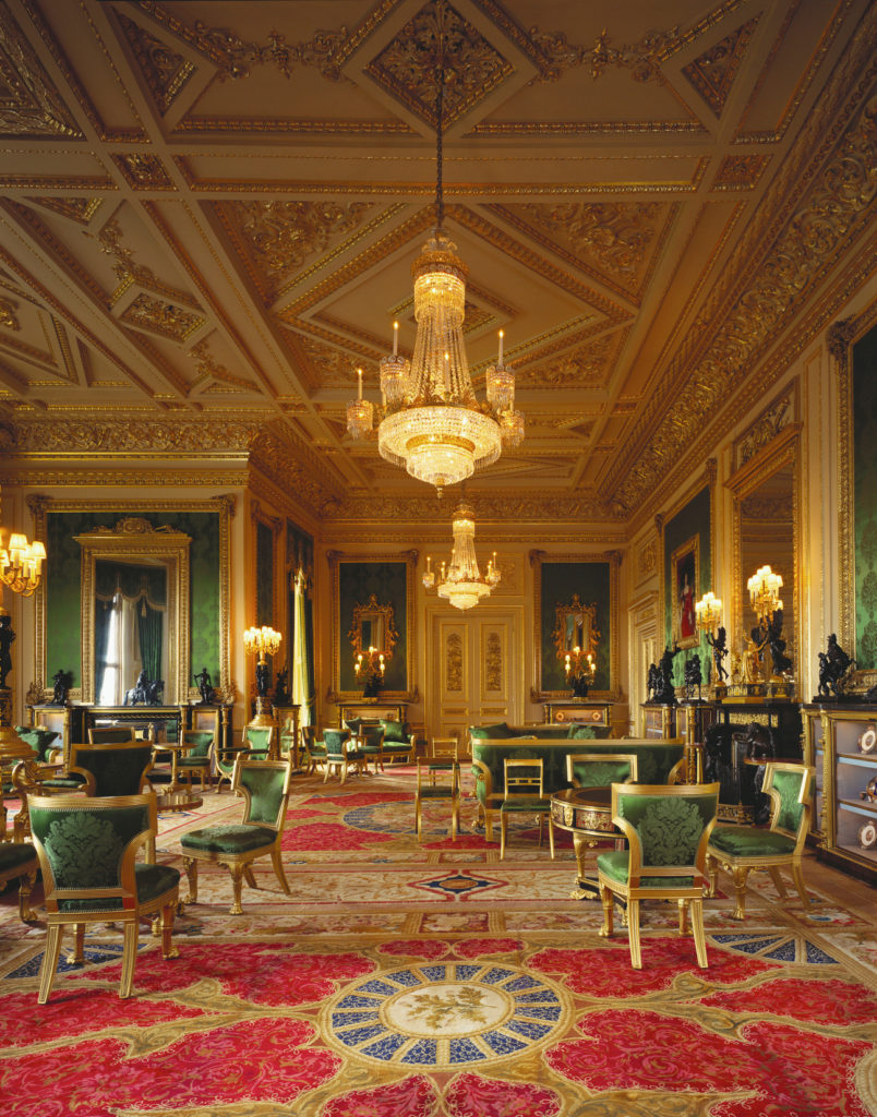 Green Drawing Room, Windsor Castle