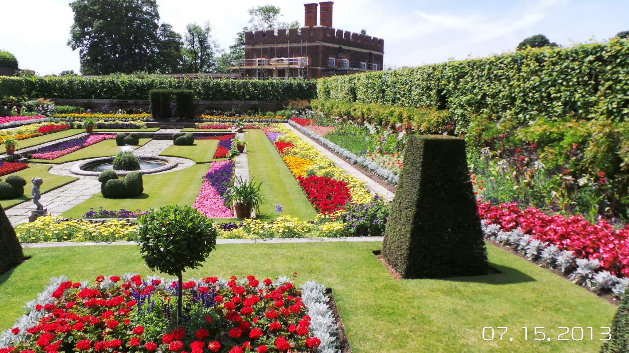 More Gardens at Hampton Court Palace